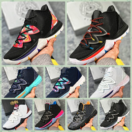 $enCountryForm.capitalKeyWord Australia - NKY05A Original Irving Limited 5 Mens Kyrie Basketball Shoes 5s Black Magic for Kyries chaussure homme de basket ball Trainers Sneakers40-46