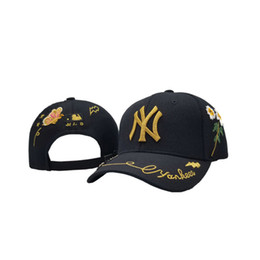 Little Hats Australia - NEW MB001 Little Bee Yankees icon 1:1 Classic Hat Gift Box High Quality Embroidery Casquettes Free Shipping
