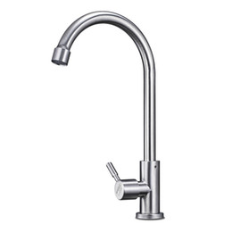 $enCountryForm.capitalKeyWord UK - 304 stainless steel kitchen single cold faucet rotating faucet brushed lead-free sanitary bathroom balcony garden bar faucets