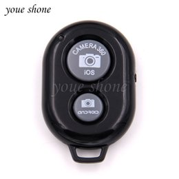 Shutter Release Camera Australia - 1pcs Bluetooth Remote Control Button Wireless Controller Self-Timer Camera Stick Shutter Release Phone Monopod Selfie for ios