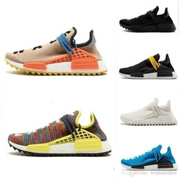 $enCountryForm.capitalKeyWord NZ - Race Human Running Shoes Pharrell Williams Hu Trail Holi China Exclusive Equality Happy Passion Mens Women Trainers Hiking Sports Sneakers
