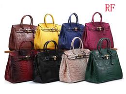 $enCountryForm.capitalKeyWord Australia - Designer Handbag Fashion Women Crocodile Skin Tote Bags Ladies Tassel Large Capacity Shopping Bag European And American Dinner Party Bag