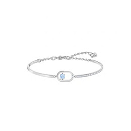 swarovski silver chain NZ - Crystals form Swarovski s925 Silver NORTH moving lustrous elegant and chic Bracelet Campus wind New model in June Selection for elegant lady