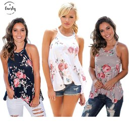 Used t shirts online shopping - T Shirt S Xl Summer Casual Women Mouwlless Printed Loose Women Shirt Plus Size Women Clothing Off Shoulder Used Tops