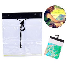 Wholesale Storage Bag Pouch Multifunction Dry Outdoor Waterproof Camping Holder Clear PVC Portable Hiking Map Cover Case Transparent