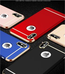 $enCountryForm.capitalKeyWord Australia - 3 in 1 Luxury Hard PC Case For iPhone 6s 6 s 7 8 Plus X 5 5s SE Phone Back Cover For iPhone X 8 7 6 6s Plus 5S SE XR XS Max Case