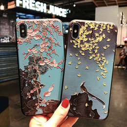 Fan For Iphone Australia - New Chinese fan +TPU+for iPhone 6 6S 7 8  X XS XR XSM 6plus 6plus 7pures 8pulse mobile phone cover
