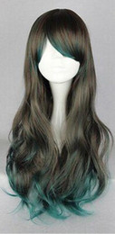 $enCountryForm.capitalKeyWord Australia - WIG free shipping New Harajuku Long Curly Wavy Hair Full Wigs Cosplay Party Anime Lolita Wig