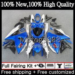 $enCountryForm.capitalKeyWord Australia - Fairing Bodywork For SUZUKI GSX-R1000 K9 GSXR 1000 09 10 11 12 13 15 33PG8 GSX R1000 K9 Blue white GSXR1000 2009 2010 2011 2012 2014 2015