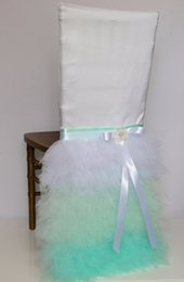 $enCountryForm.capitalKeyWord Canada - Custom Made Tiers Organza Crystals Wedding Chair Covers Beautiful Cheap Wedding Party Decorations Vintage Chair Sashes Supplies C06