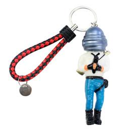 $enCountryForm.capitalKeyWord UK - PUBG Model Doll PVC 11cm Game Figurine Action Figure Keychain Pendant