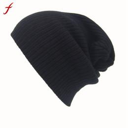81107ef99fc Feitong Winter Casual Hip Hop Beanies Hat For Men Women Knitted Hats  Crochet Ski Cap Warm Skullies Gorros S18120302