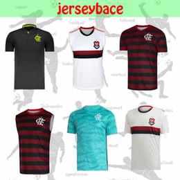 Новый 2019/2020 футбол футболка фламенго GUERRERO Home красный тренировочный костюм DIEGO EDERSON MANCUELLO VINICIUS JR E.RIBEIRO футболка фламенго на Распродаже