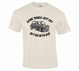 Details Auto Australia - Classic Vintage Mini Cooper Auto Car Fine Detail Illustration T-Shirt S to 5XLFunny free shipping Unisex Casual Tshirt top