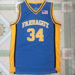$enCountryForm.capitalKeyWord Australia - High School 34 Kevin Garnett Jersey Blue Team Farragut Kevin Garnett Basketball Jerseys Uniform Breathable For Sport Fans High Quality
