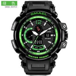 $enCountryForm.capitalKeyWord Australia - SMAEL 1702 NEW Military Watch Waterproof 50M Shock Resitant Sport Watches Digital Clock Men Military Army Big Men Sport Watch 1702