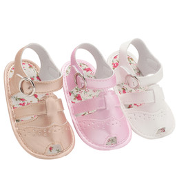 $enCountryForm.capitalKeyWord NZ - Baby Sandals PU Baby Girl Shoes 0-18 Month Newborn Hollowing Fashion Girl Infant 7 Color Boy Shoes 2018 Summer Sandals