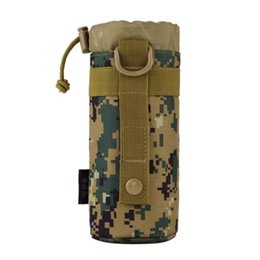 Molle water bottle pouches online shopping - Outdoor Tactical Gear Military New Original Designed Bottle Pouch Molle System Water Bottle Bag Kettle Pouch Holder