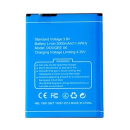 battery for doogee Australia - New DOOGEE X6 3000mAh battery for Doogee X6 Pro phones