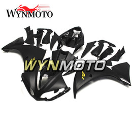 R1 Fairing Matte Black Australia - Matte Black Gold R1 style Motorcycle Fairings For Yamaha YZF 1000 R1 2009 2010 2011 ABS Plastic Injection motorbike Kits cowlings covers