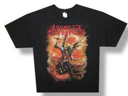 $enCountryForm.capitalKeyWord Australia - Avenged Sevenfold-The Victor-Black T-shirt Printed T-Shirt Funny Tees Cool Tops Basic Models tee shirt