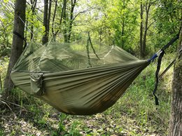 $enCountryForm.capitalKeyWord Australia - Wholesale-Polyester Air Tents Simple Automatic Opening Tent 2 Person Easy Carry Quick Hammock with Bed Nets Summer Outdoors Fast Shipping