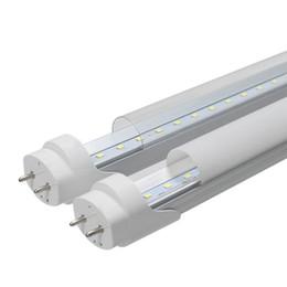Fluorescent Light Bulbs T8 UK - Led Tube 4ft 1200mm T8 Led Tube Light High Super Bright 2ft 11W 3ft 18W 4ft 22W 28W Led Fluorescent Bulbs AC110-240V