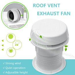 exhausted fan Australia - 12V White Yacht RV Ceiling Ventilation Exhaust Fan Blower 200CFM Strong Wind