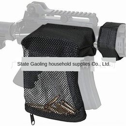 water spraying fans Australia - Army fans wasp Toy spray spray shell recycling AR15 hunting bullet collection bag water bomb toy Shell storage net bag