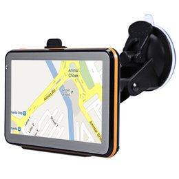 car mp3 device Australia - 5-Inch Car Gps Navigator Resistance Screen Press Screen 8G 256Mb Mp3 Mp4 Voice Driving Navigation Device car dvr