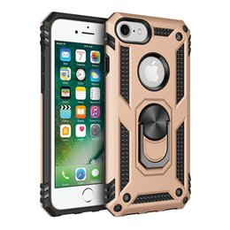 $enCountryForm.capitalKeyWord Australia - 2019 free shipping military grade for iphone 8 defender case defender kickstand phone case car mount finger ring for iphone x case