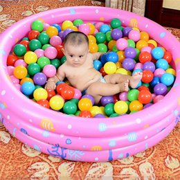 Inflatable Pool Funny Australia - New Style High Quality Funny Comfortable Kids Children Inflatable Swimming Pool Summer Baby Water Play Bath Pool 100CM#276111