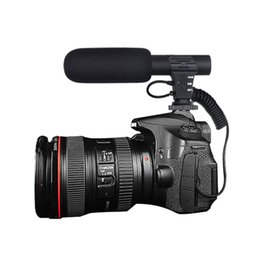RecoRd cameRa hot online shopping - New Hot Professional Interview Camera Video Microphone Outdoor Computer Recording Sound Mini MIC