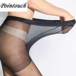 hose girl 2019 - POINTOUCH Sexy Summer Breathable Thin Tights Stretchy Stockings High Elastic Prevent Hook Women Pantyhose Girl Medias Pa