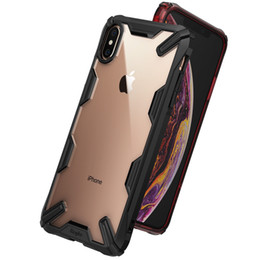 $enCountryForm.capitalKeyWord NZ - Luxury Dual Heavy Duty Armor Bumper Soft Rubber Silicone Ultra-Thin Shockproof Back Phone Case Cover For Apple iPhone XS Max XR X 8 7 Plus