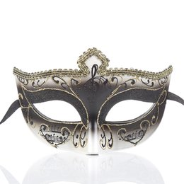 China Womens Musica Note painting Party Masks Masquerade Masks Halloween Ball Prom Mardi Gras Carnival Venetian Mask One Size Fit Most 27H supplier face painting cat suppliers