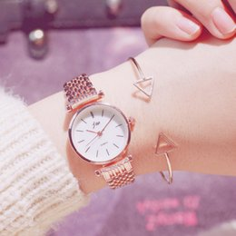 $enCountryForm.capitalKeyWord Australia - zegarek damski 2019 New Women Bracelet Watch Luxury Rose Gold Watch Women Quartz Ladies Silver Wrist Watches Steel Female Clock