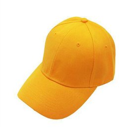 Outdoor Cap Wholesale UK - Spring Solid Color Baseball Cap Men Women Casquette Hat Gorras Truckers Dad Hats Outdoor Sports Black Snapback Bone Caps