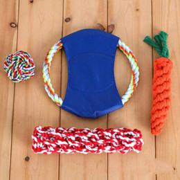 $enCountryForm.capitalKeyWord Australia - Cute pet toys pure cotton orange cotton rope knitted carrot dog grinding stick pet toys support hair substitute