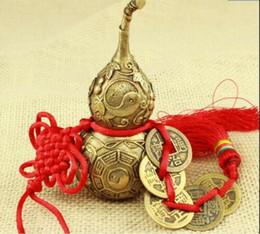 $enCountryForm.capitalKeyWord Australia - Brass copper gourd pendant small ornament mascot