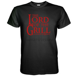 Flash grill online shopping - The Lord of the Grill T shirt Scharze Fun Geschenk Barbecue