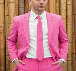 Beige Slim Suits For Men Australia - New Style Customize Handsome Tuxedos Wedding For Bridegroom 2Pieces Slim Fit Men's Groomsmen Prom Party Man Suit