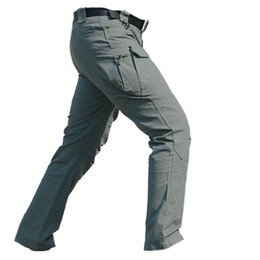 Mens lightweight casual trousers online shopping - Mens Tactical Pants Special Forces Cargo Pants Combat SWAT Hunter Army Hombres Paintball Clothes Combat Trousers