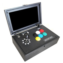 Game arcade joystick button online shopping - NEW Pandora s box D can store game D Games with inch LCD Video Game Box Portable Arcade Box with Zero Delay Joystick Button