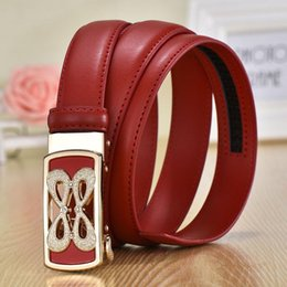 $enCountryForm.capitalKeyWord NZ - Ma'am Belt Drill Genuine Leather Automatic Buckle Belt Ma'am Belt Hundred Pad Bring Woman