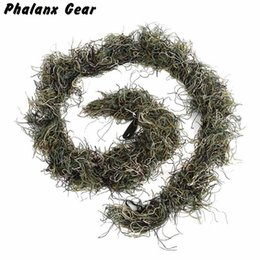 $enCountryForm.capitalKeyWord Australia - Tactical 3D Gun Wrap Cover Use Elastic Band For Camouflage Forest Hunting Ghillie Suit for Sniper Hunting Paintball Game