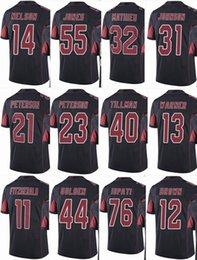 Mens 2018 Jersey  11 Larry Fitzgerald  31 David Johnson  32 Tyrann Mathieu   23 Adrian Men Women Youth Color Rush Elite Football Jerseys dfd4dcaf1