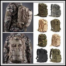 military camouflage clothing NZ - 12 Colors 30L Hiking Camping Bag Military Tactical Trekking Rucksack Backpack Camouflage Molle Rucksacks Attack Backpacks 30pcs