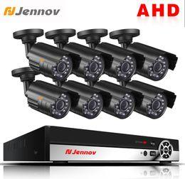 Ip Dvr 8ch Australia - Jennov 8CH AHD 1080P 2MP Full HD Video Surveillance IP Camera Security Camera System CCTV Kit P2P DVR Infraerd Light IR-Cut