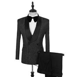 $enCountryForm.capitalKeyWord UK - Fashionable Embossing tuxedos groom wedding men suits mens wedding suits tuxedo costumes de smoking pour hommes men(Jacket+Pants+Tie) 087